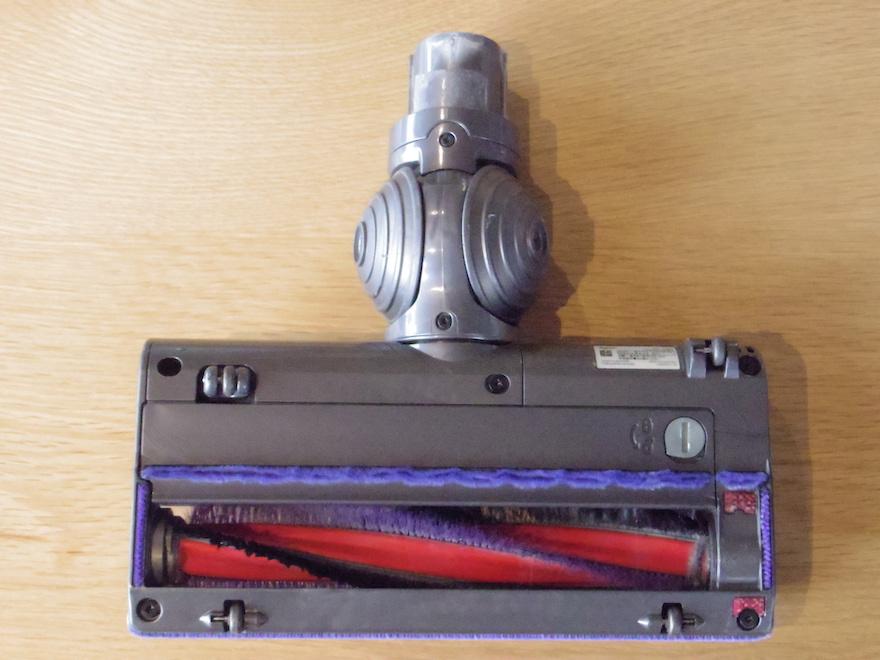 ダイソン掃除機の従来のモーターヘッド