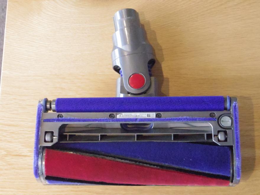 ダイソン掃除機のソフトローラークリーナーヘッド